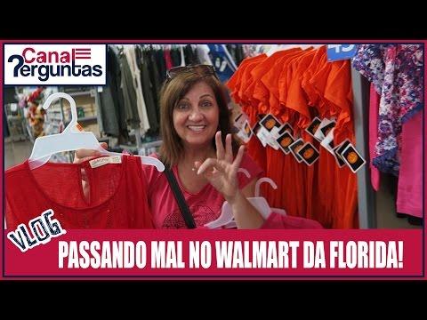 Minha mãe passando mal no Walmart da Florida, EUA. ✔