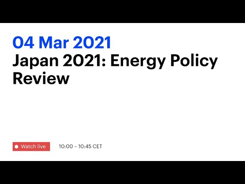 Japan 2021: Energy Policy Review