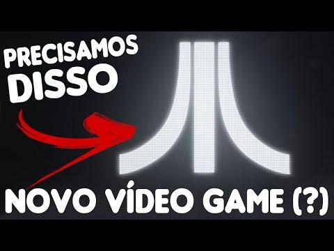 É SÉRIO PRECISAMOS DISSO ! NOVO VÍDEO GAME DA GIGANTE ATARI !