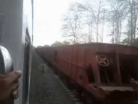 BG Train (Goods) Entering Lumding - Silchar Hill Section