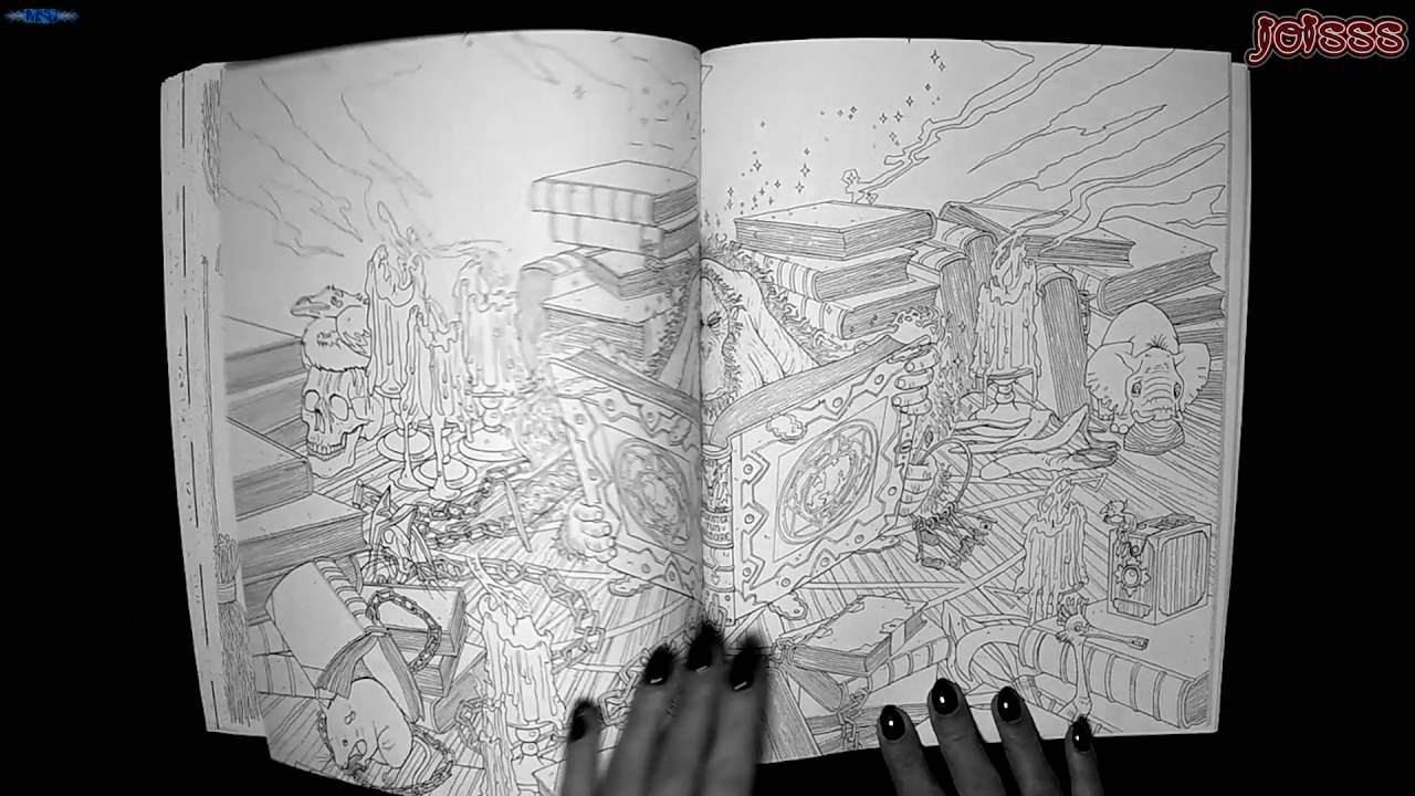 discworld coloring pages | Terry Pratchetts Discworld Colouring Book - YouTube
