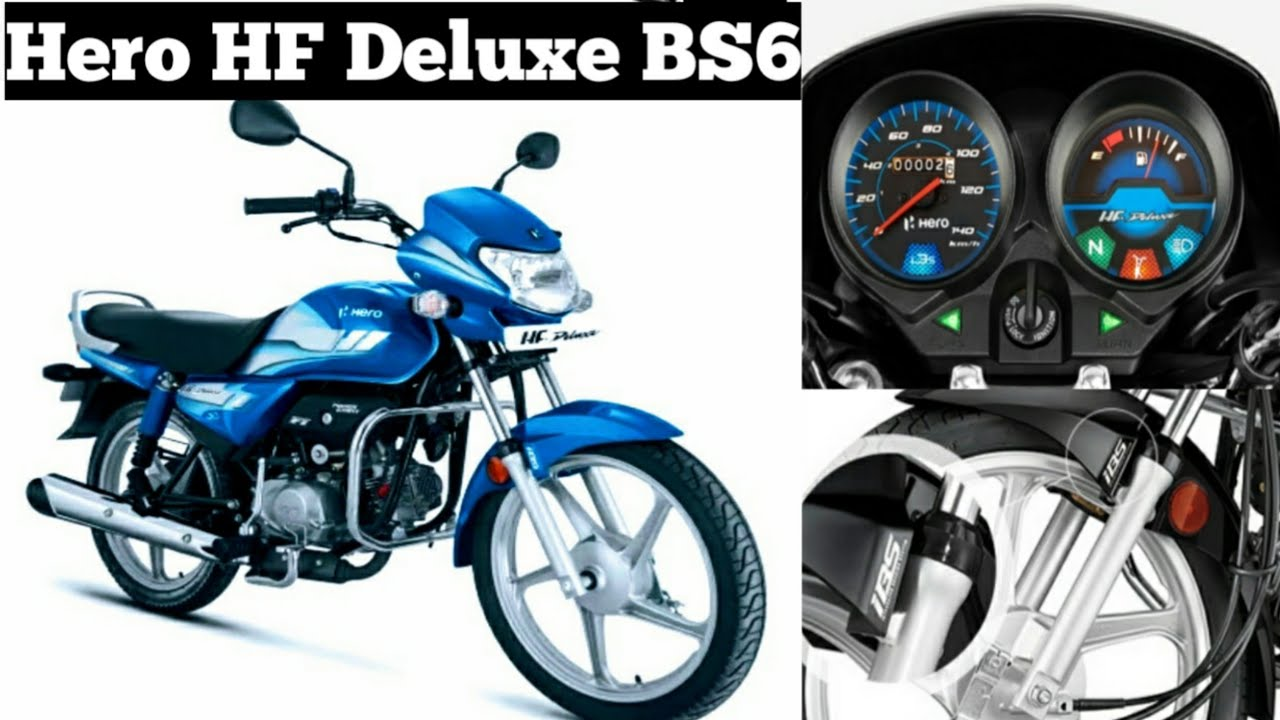 Hero Hf Deluxe Bs6 Official Launched Features Price Mileage Youtube