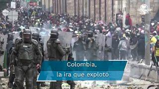 Las protestas en Colombia que han dejado 25 muertos tienen su origen en 2019 y su final aún no se ve cerca, ¿por qué? La respuesta en este video con Guadalupe Galván, Editora de Mundo en EL UNIVERSAL