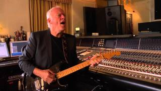 DAVID GILMOUR -  SHINE ON YOU CRAZY DIAMOND_IN THE STUDIO
