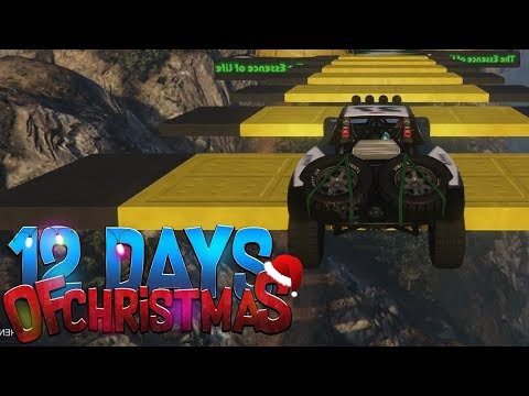 RACEN VOOR DE PUNTEN! (GTA V 12 Days of Christmas #1)