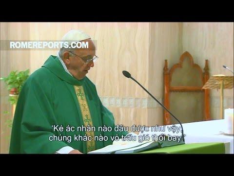 Đức Giáo Hoàng Phanxico giải thích lý do người xấu có thể gặp những điều tốt đẹp