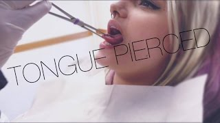 Getting my tongue pierced!😍 Feat Andy Jespersen
