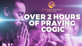 Over 2 Hours Oḟ Praying COGIC