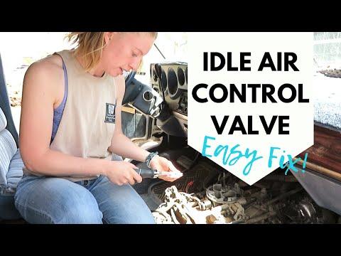 REPLACING IDLE AIR CONTROL VALVE - 1993 Dodge Ram B250