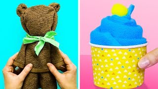 25 SUPERB LIFE HACKS WITH TOWELS