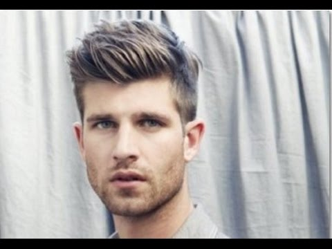 Best Hairstyle For Men With Long Face - YouTube