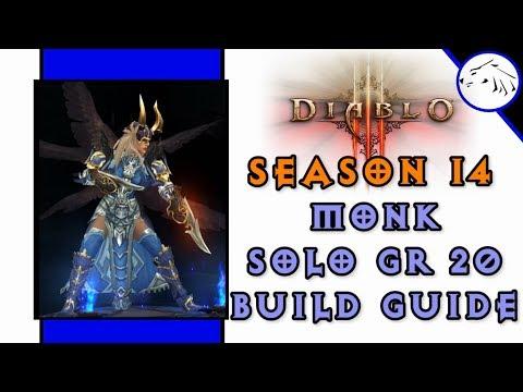 Diablo 3 Season 14 Monk Solo GR 20 Build Guide LTK