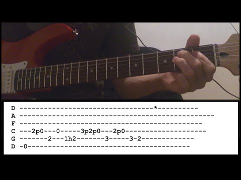 Megadeth - Fatal Illusion - Guitar Lesson