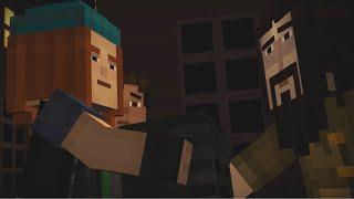 Minecraft Story Mode Walkthrough - ep 2 - am fost inselati