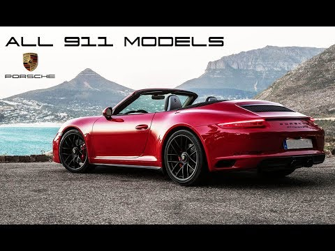 All 911 Models | An Idiot's Guide to Understanding the Porsche 911 Range