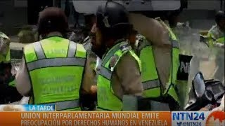 Habría sido aprobada visita de la Unión Interparlamentaria Mundial a Venezuela