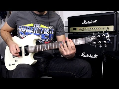 ESP LTD VIPER-50 OW - Demo Guitar