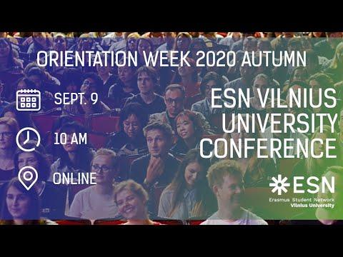 ESN Vilnius University Conference
