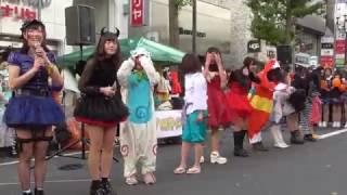 20161029 さっぽろハロウィン2016 北海道ご当地アイドル フルーティー 1...