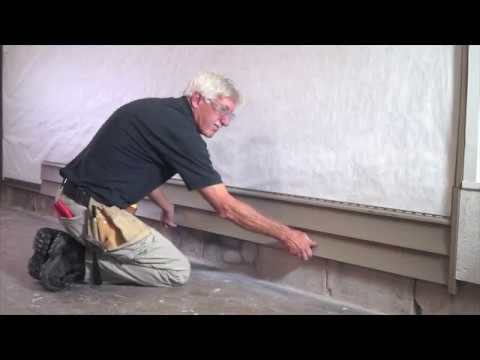 How To Install Vinyl Siding Youtube