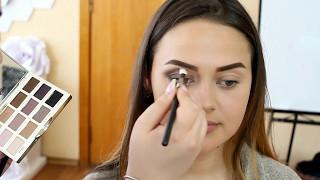 Вечерний макияж. Обучение макияжа. Пошаговая демонстрация выполнения макияжа.
