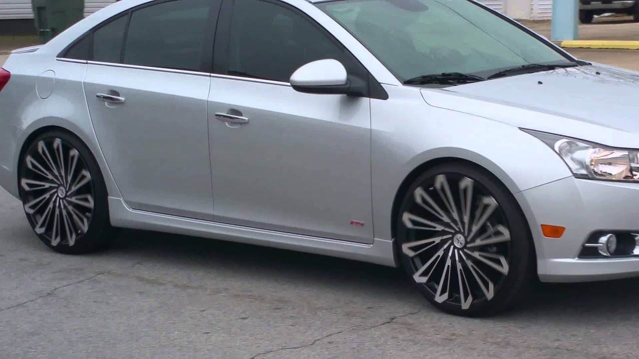 Chevrolet Cruze On 22 Inch Starr Wheels Doovi