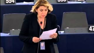 Intervento in aula di Caterina Chinnici sull'Agenda europea per la sicurezza