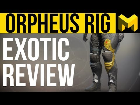 Destiny 2 Unlimited Supers: Orpheus Rig Exotic Review