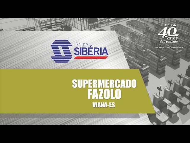 Loja Inaugurada - Supermercado Fazolo - Viana/ES