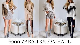 $900 Zara Try-On Haul Fall 2018 by Kerina Mango