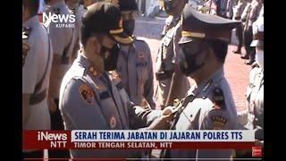iNews NTT - Kapolres Andre Librian Pimpin Sertijab Empat Pejabat Utama Polres TTS