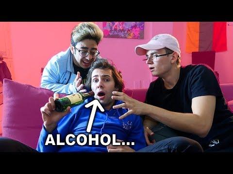 EXPOSING DAVID DOBRIK'S DRINKING PROBLEM…