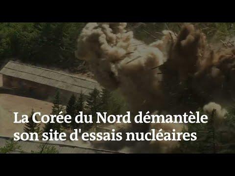 La Corée du Nord fait sauter son site d'essais nucléaires