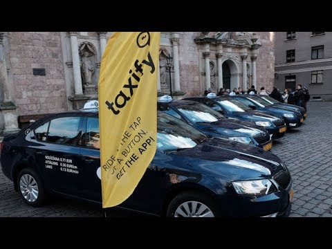 Taxify Launches in Paris
