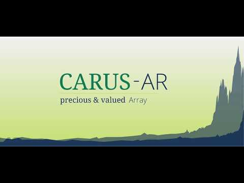 CARUS-AR | An easy way to invest in this booming crypto and blockchain market