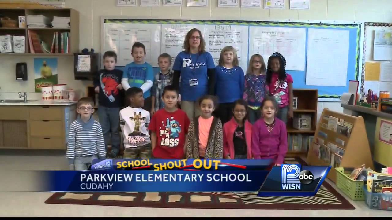 12/19 Shout Out: Mrs  Dollhopf's second-graders from Parkview Elementary,  Cudahy