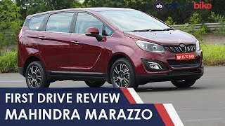 Mahindra Marazzo First Drive Review | NDTV carandbike