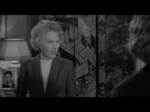 Barbara Stanwyck slaps Capucine (Walk on the Wild Side, 1962)