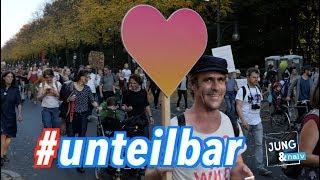 Eindrücke von der #Unteilbar Demo in Berlin - 13. Oktober 2018