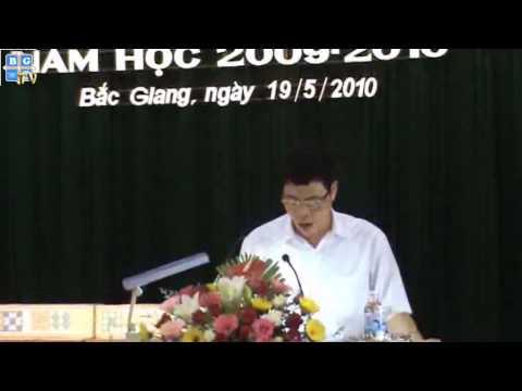 Tuyên dương khen thưởng HSG quốc gia, HSG tỉnh năm học 2009-2010