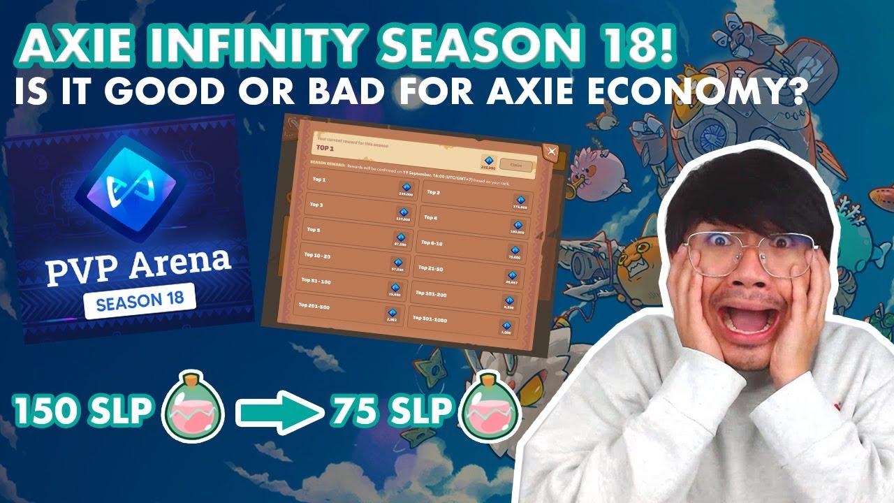 AXIE INFINITY SEASON 18 + MAJOR UPDATE ON SLP FARMING | PLAY TO EARN | NFT GAME | WE DUET
