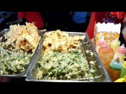 槟城夜市场 Penang Georgetown Street night market (Pasar Malam) Foods~