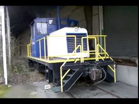 Locomotive Fire Up Cold  Twin Cummins%21