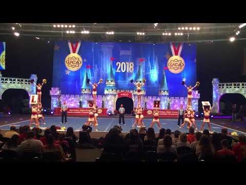 La Serna High School (Whittier, CA) Varsity Cheer @ 2018 UCA Nationals- Large Varsity Div 1 Finals