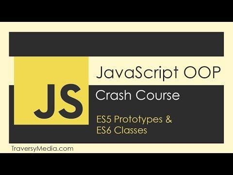 JavaScript OOP Tutorial (ES5 & ES6)