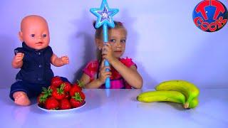 Baby Born Doll | Кукла Беби Борн и Маленький Повар Ярослава готовят волшебный Смузи Видео Для Детей