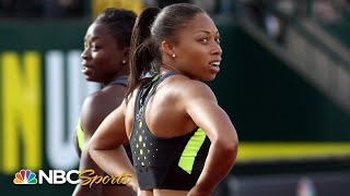 Allyson Felix and the 2012 run-off that never was | NBC Sports