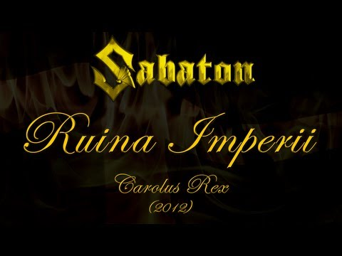 Sabaton - Ruina Imperii (Lyrics Svenska & English)