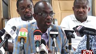 Asiedu Nketia urges members not to use party structures to declare support for candidates. (2-08-18)