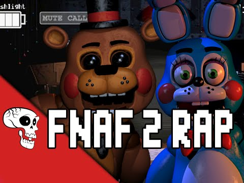 "Five Nights At Freddy's 2 Rap by JT Music ""Five More Nights"""